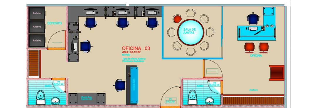 Griferia Para Baño Grival:Acabados Oficinas BRP Tower Business